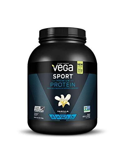 Vega - Sport Plant-Based Protein Vanilla - 4 lbs. - Protein Sport