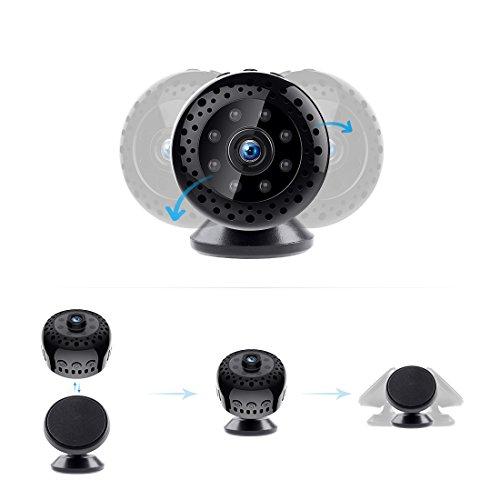 FREDI HD1080P WIFI telecamera Spia videocamera nascosta Microcamera Wireless Mini Camera spia microtelecamera wifi Hidden Spy Cam Videocamera di sorveglianza Interno IP telecamera di sorveglianza - 7