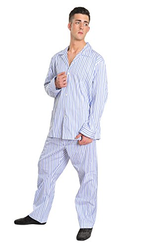 brioni-pajama-men-blue-cotton-striped