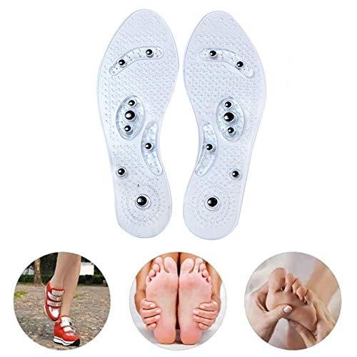 periwinkLuQ Einlegesohlen, magnetisch, für Massageeinlagen, zur Gewichtsverlust, magnetische Therapie, Massageeinlagen, Stiefel, Pads für Männer, Frauen, Senioren, Jugendliche, etc.