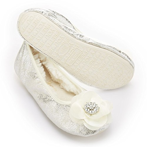 olympia-by-pretty-you-london-ladies-white-ballerina-slippers-with-diamante-flower-trim-m-uk-45-55