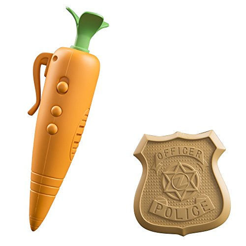 tomy-zootropolis-judys-carrot-recorder-and-badge-multi-colour
