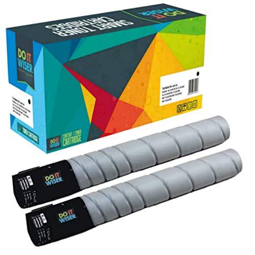 Do it Wiser ® 2 Kompatible Toner Schwarz zu Konica Minolta Bizhub C220 C280 C360 | TN216K TN319K A11G131 A11G130