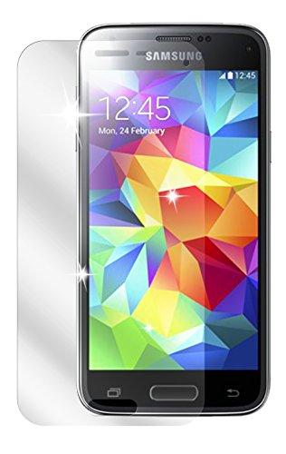 dipos I 2X Schutzfolie klar passend für Samsung Galaxy S5 Mini Folie Bildschirmschutzfolie