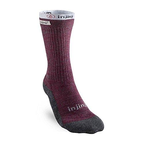 Injinji Womens Liner+Hiker Socks Maroon 35-40 (Socken Injinji Liner)