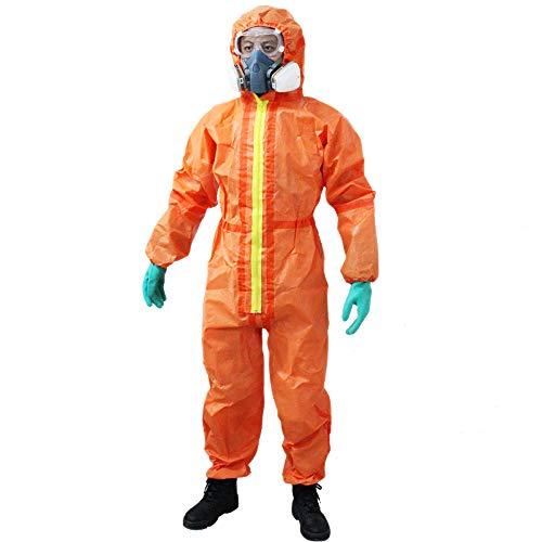 4690-Tuta di protezione chimica liquido nucleare radiazioni della tuta xxl
