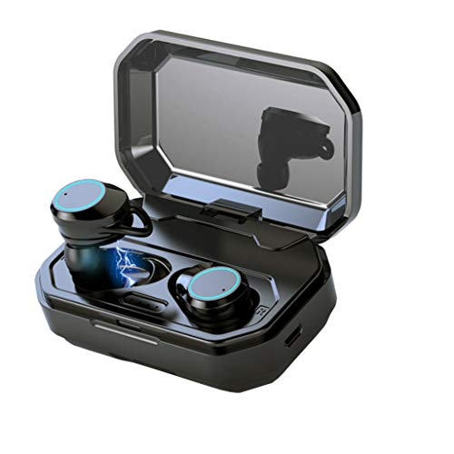 bescita X6 Bluetooth Sport in-Ear Kopfhörer, Mini Twins Wireless Bluetooth 5.0 IPX7 Wasserdicht Stereo Headset In-Ohr Kopfhörer Ohrhörer mit Mikrofon für iPhone, Huawei und Samsung (Bose Bluetooth-stereo-headset)