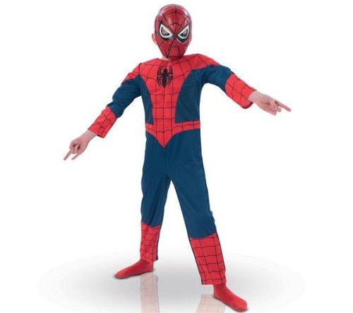 e Spiderman EVA 3D 154635l Kostüm für Kind–Luxus-Set–Größe L (Pokemon Kind Kostüme)