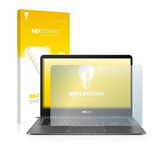 upscreen Matt Schutzfolie kompatibel mit Asus Zenbook Flip 14 UX461UN - Entspiegelt, Anti-Reflex, Anti-Fingerprint