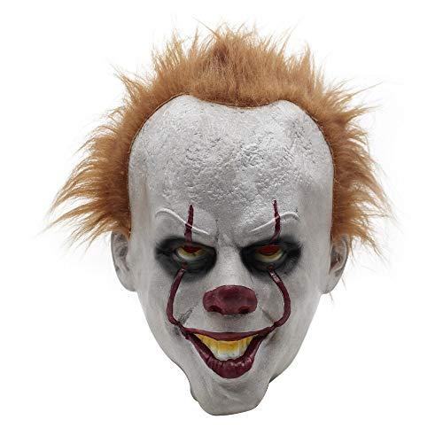 Skitic maschera di halloween clown horror masquerade maschere divertente fantasma maschera per halloween carnevale