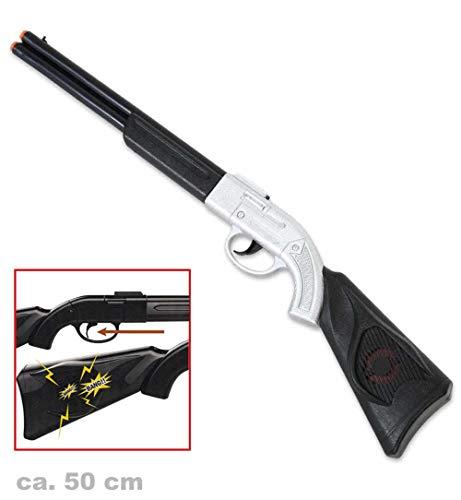 KarnevalsTeufel Western Gewehr Spielzeuggewehr Flinte Cowboy Wilder Westen Zubehör (Schwarze Cowboys Des Alten Westens)