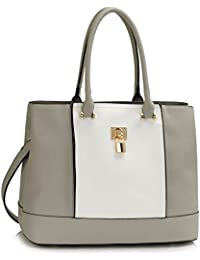 d83a220d4673 Ladies Large Tote Bags Women s Fashion Quality Faux Leather Celebrity  Padlock Handbag CWS00415