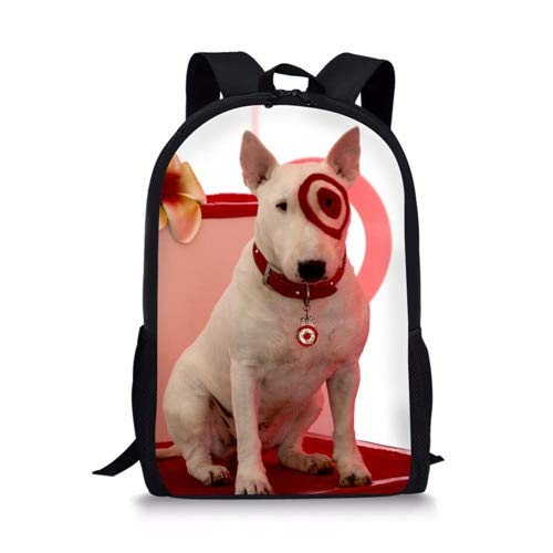 Backpack Hot New Bull Terrier Dogs Design Children Cute Kids School Bags for Girls Backpacks,Y0345C