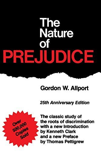 The Nature of Prejudice: 25th Anniversary Edition by Gordon W. Allport (1979-01-22)