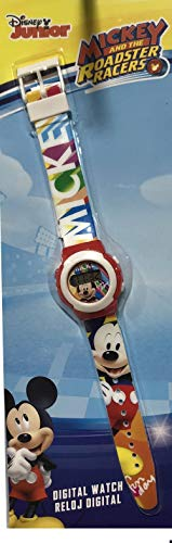 Mickey Mouse- Smart Watch Armbanduhr, Multicolor KD-WD19647