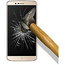 9H Tempered Glass - Protector de Pantalla para [ Elephone P8000 ] Cristal Vidrio Templado Premium, Ultra Resistente a Arañazos, Dureza 9H