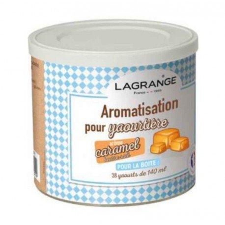 Lagrange - 380350 - Pot de 425g arome caramel beurre salé pour yaourtière