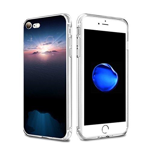 iPhone 7 hülle Schutzhülle Clear Case Cover Bumper Anti-Scratch TPU Silikon Handyhülle für iPhone 7 4