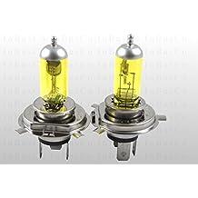 2x H460/55W 12V 60W/55W Casquillo 43t lámpara halógena bombillas incandescentes Bombillas Auto lámpara Yellow Edition 3000K Amarillo Mitsubishi Carisma tricuerpo (Da _), COLT III (C5_ A), COLT V (CJ _, CP _), Eclipse II (D3_ A), GALANT V tricuerpo (E5_ A, E7_ A, E8_ A), GALLOPER (JK de 01), LANCER IV (C6_ A, C7_ A), LANCER tricuerpo (CS _ A, ct0), PAJERO II (V3_ W, V2_ W, V4_ W), PAJERO PININ (H6_ W, H7_ W), PAJERO SPORT (K90), Space Runner (N1_ W, N2_ W) (N6_ W), Space Star (DG _ A), Space Wagon (D0_ V/W)