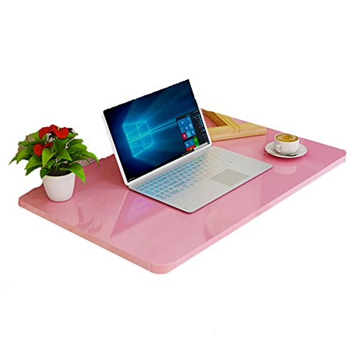 WNX Klappbarer Küchentisch aus Holz für Wand-Klapptisch Faltbare Küche & Esstisch Tisch-Kindertisch Pink (größe : 100*50cm)