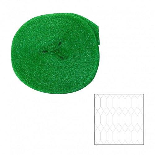 Xclou Filet de protection pour arbres fruitiers 4x10 m - Protection anti oiseaux et animaux - Filet en polyéthylène robuste avec mailles extra fines 8 mm
