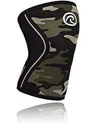 Rehband RX Knee Support 7 mm Neopreno vendaje, unisex, Rehband Rx Knee Support 7mm Neopren, Camoflage, M (35-37 cm Umfang)