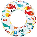 Intex Lively Print Swim Rings - Fishes, Multi Color