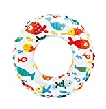 #7: Intex Lively Print Swim Rings - Fishes, Multi Color