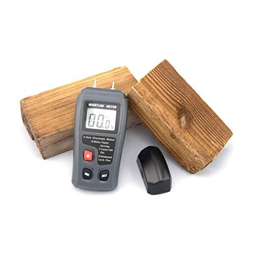 Scientific Products portátiles Medidor de humedad de madera portátil Higrómetro Árbol de madera...