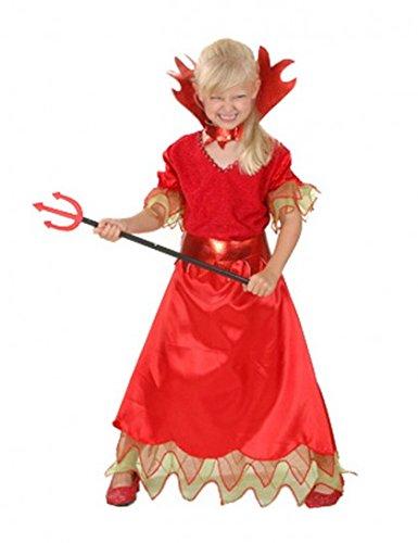 Déguisement diablesse Halloween enfant--5 à 6 ()