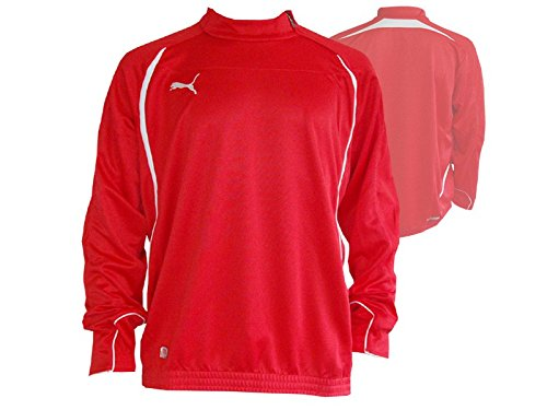Puma Powercat TT 1.10 1/2-Zip Top TrainingTop Fußball rot (Zip-basketball-schuhe Herren)