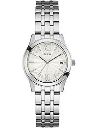 Guess damen armbanduhr silber w13073l1