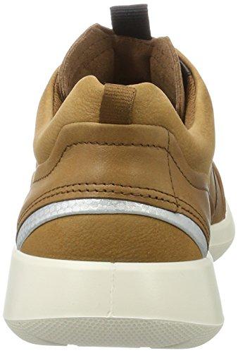 Ecco Soft 5, Sneakers Basses Femme Marron (Cashmere/cashmere)