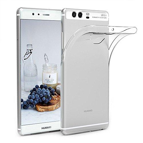 Huawei P9 Hülle, CaseLover Ultradünne Mode Transparente Weiches TPU Handyhülle Silikonhülle für Huawei P9 5,2 Zoll Flexible Transparenter Weicher Telefonkasten Abdeckung Handy Zubehör Schutzhülle Anti Scratch Bumper Stoßfest Fall