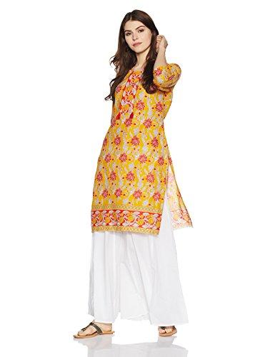 Indigo Women's Straight Cotton Kurta