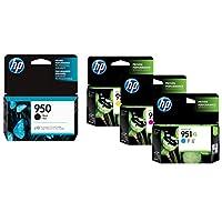HP 950 Black & Hp 951XL Color Ink Cartridge Set