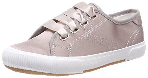 Tamaris Damen 23610 Sneaker, Silber (Pewter Satin), 38 EU