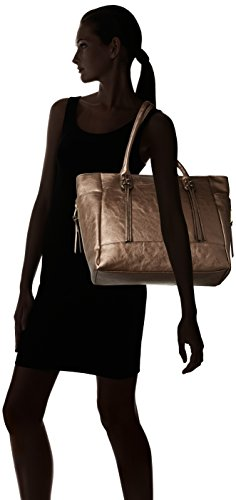 Emilie M. Dawn Tote Deming Group Donna Sintetico Gunmetal