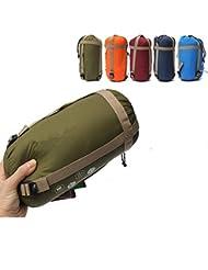 CAMTOA Sac de couchage Envelope en coton 1500x1800mm - étanche - super léger, Ultra-économie de l'espace pour voyage randonnée trekking camping