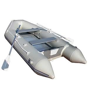 Oramics adultes 109109Tuyau Bateau bateau à moteur, gris, 320x 152cm