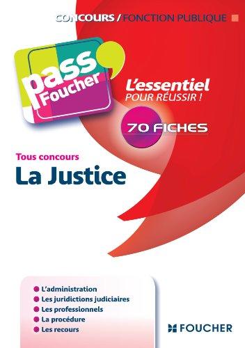 Pass'Foucher - La Justice tous concours par Valerie Gomez-Bassac