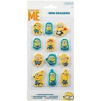 Sambro Min1-697-SB Minions - Set de 12 mini-gomas de borrar