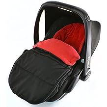 Asiento de coche para saco/Cosy Toes Compatible con Bebecar fácil Maxi recién nacido asiento de coche, color rojo