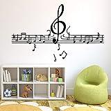Pbldb Musical Notes Tapete Dekoration Wandaufkleber Für Kinderzimmer Wanddekoration Wandmalereien 30X50 Cm