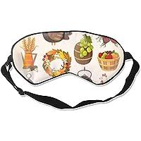 Fashion Halloween Thanksgiving-Schlafmaske, tiefer Ausruh, konturierte Augenmaske preisvergleich bei billige-tabletten.eu