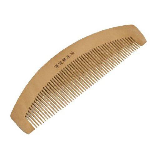 SODIAL(R) Peigne en bois anti-statique pour les femmes Longueur 6.5\