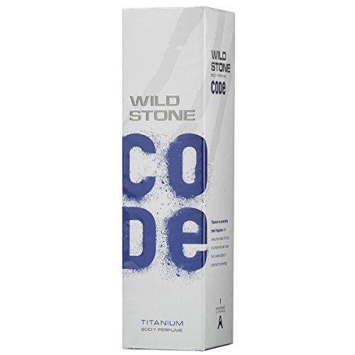 Wild Stone Code Titanium Deodorant Spray (120ML)