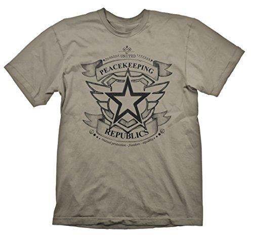 Gaya Entertainment T-Shirt Battleborn - U.P. Republics [Beige, XL] [Import Allemand]