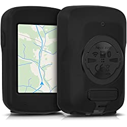 kwmobile Funda para Garmin Edge 820/Explore 820 - protector para ordenador de bicicleta - Cover para GPS en negro