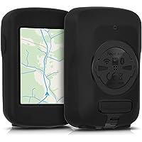 kwmobile Housse GPS vélo - Accessoire pour Garmin Edge 820 / Explore 820 - Protection boitier navigateur - Étui en Silicone Noir